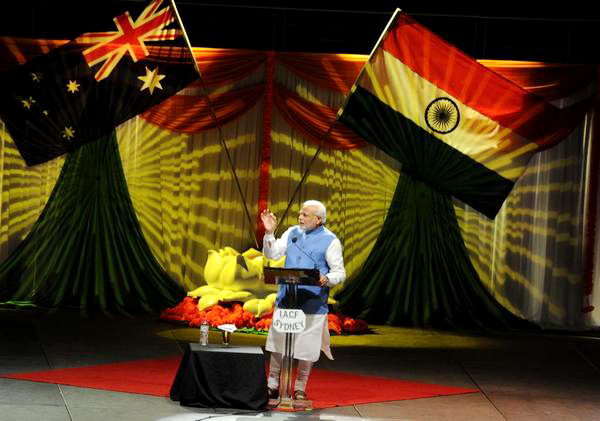 नरेंद्र मोदी ने ऑस्ट्रेलिया में भी भारतीयों का सिर ऊंचा किया