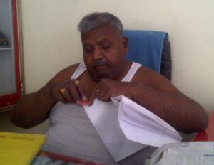 पूर्व विधायक योगेन्द्र कुमार गर्ग उर्फ कुन्नू बाबू
