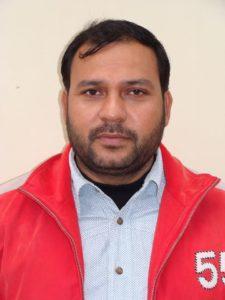 लेखपाल को धमकाने वाले कथित रिपोर्टर सुधाकर शर्मा का फ़ाइल फोटो
