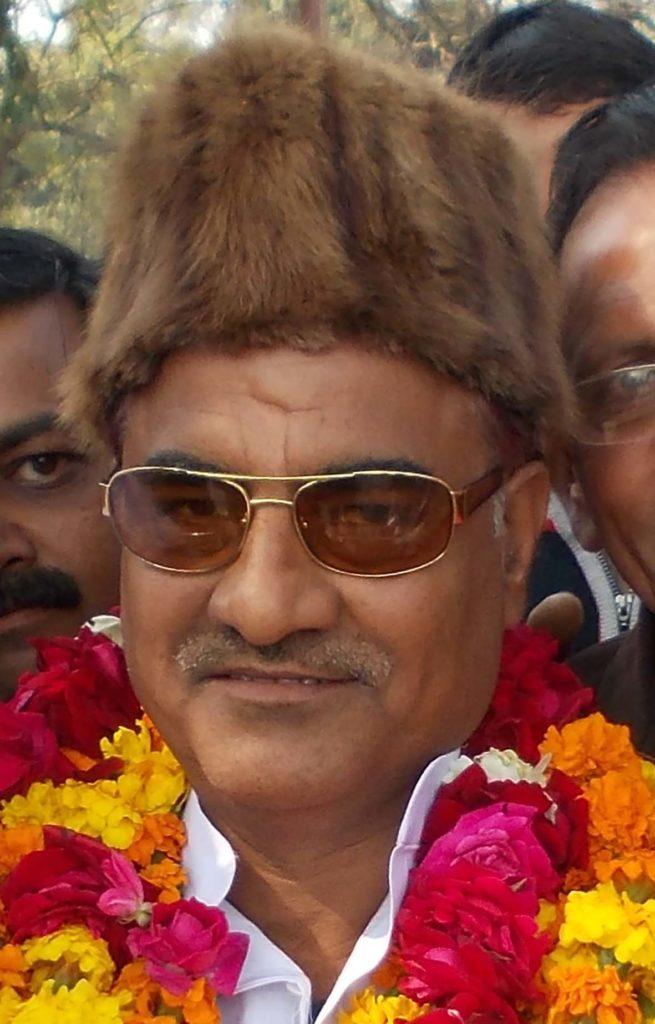गुन्नौर विधान सभा क्षेत्र से सपा विधायक राम खिलाड़ी यादव