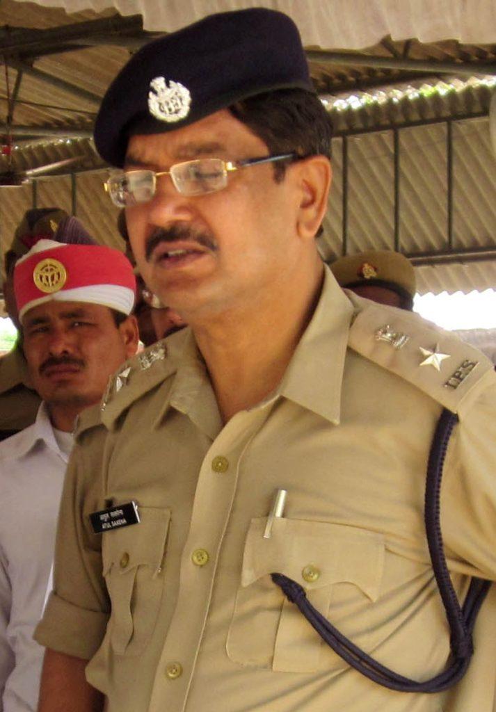 आईपीएस अतुल सक्सेना