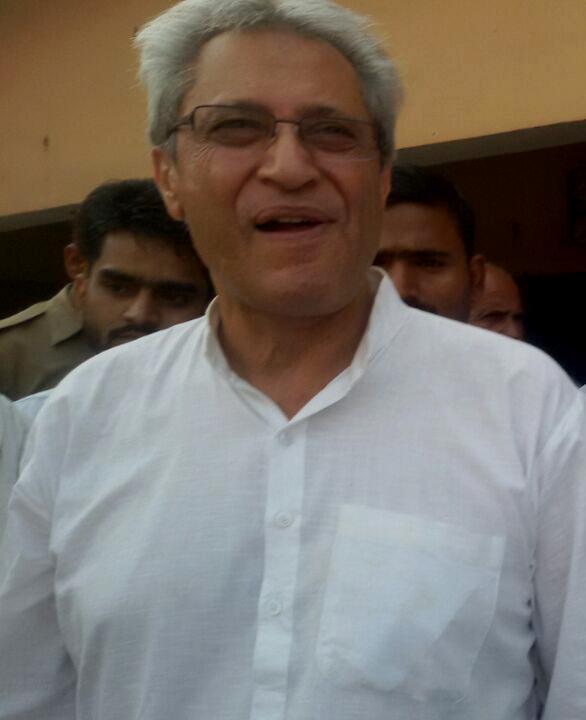 पूर्व केंद्रीय राज्यमंत्री सलीम इक़बाल शेरवानी।