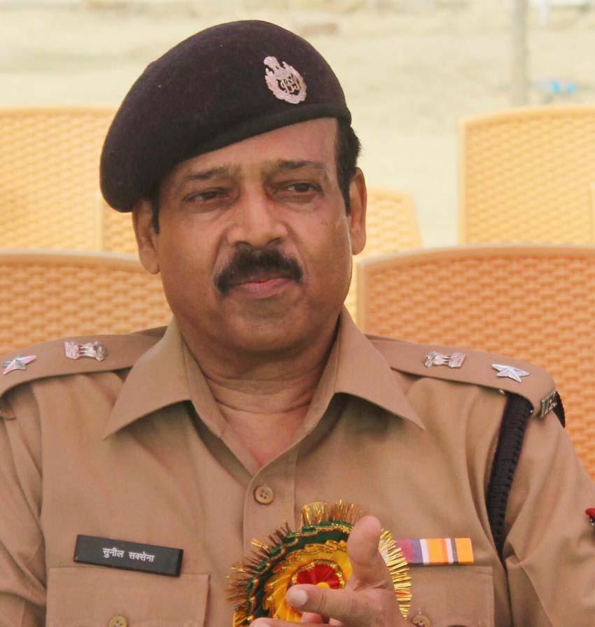 एसएसपी सुनील कुमार सक्सेना